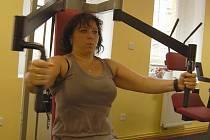 Marie Špírková z Děčína cvičí v děčínském Fitness Classic Gym Lady