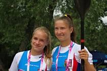 Adéla Házová (vlevo) a Kateřina Zárubová.