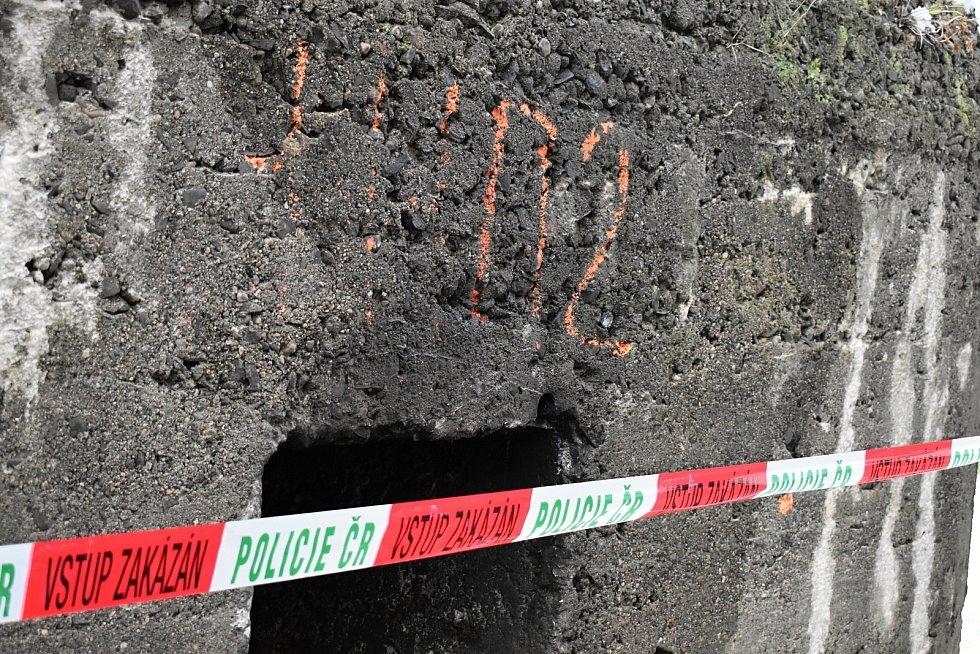 V Děčíně na Starém Městě uhořela v bunkru bezdomovkyně.