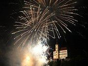 Výjimku z nočního klidu potřebuje například ohňostroj při slavnostech v Děčíně.
