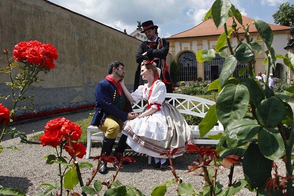 Na děčínském zámku zazní vneděli opera Prodaná nevěsta.