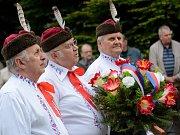 Lidé v Rumburku si ve čtvrtek odpoledne připomněli 97. výročí Rumburské vzpoury.