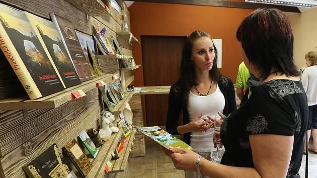 V sobotu oteřeli slavnostně v Jetřichovicích informační centrum pro turisty.
