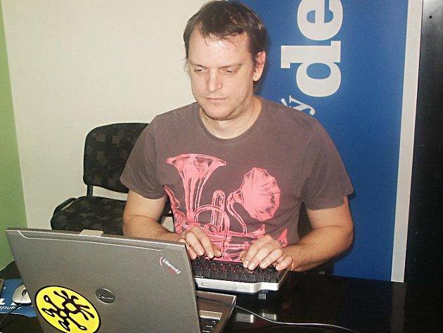 Jan Kubíček, ředitel Poradny pro integraci v Ústí nad Labem.