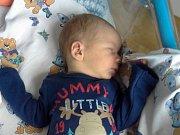 Matěj Průžek se narodil Lence Průžkové z Libouchce 22. listopadu v 9.02 v děčínské porodnici. Měřil 53 cm a vážil 3,65 kg.