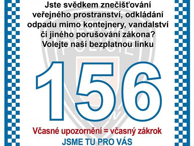 Samolepka MP Děčín.