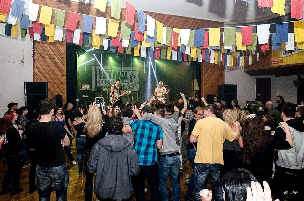 Festival free Tibet 2015 se konal v Dolní Poustevně.
