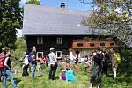 Den podstávkových domů přilákal do Merboltic několik desítek lidí.