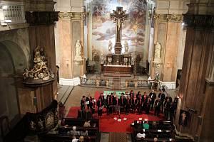 Noc kostelů v Děčíně v roce 2018