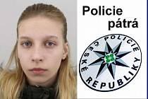 Pohřešovaná Natálie Kopecká.