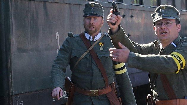 Vzpomínková akce ke stoletému výročí Rumburské vzpoury