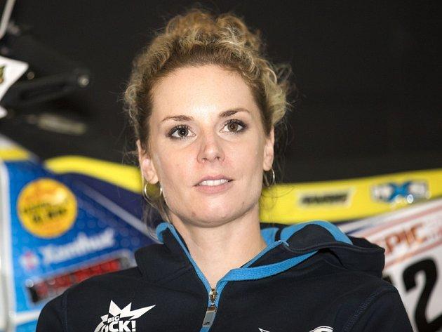 OLGA ROUČKOVÁ už odpočítává dny do zahájení Rallye Dakar.