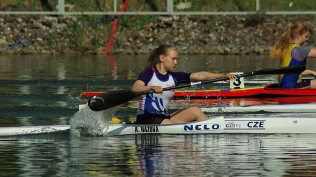ADÉLA HÁZOVÁ získala v Račicích čtyři zlaté medaile.