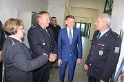 Policisté z hlídkového oddělení mají novou služebnu na hlavním nádraží v Děčíně.