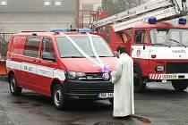 Verneřičtí hasiči se pyšní novým dopravním autem za milion.