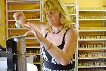 Výroba mýdla v Růžové