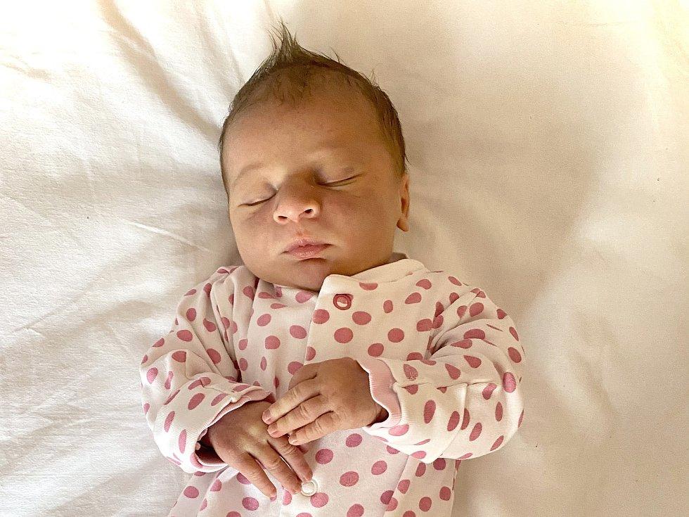 Natálie Marešová se narodila Simoně Koňasové a Michalu Marešovi z Žalhostic 28. listopadu v 1.08 hodin (49 cm a 3,21 kg).