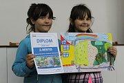 Vodohospodáři v Děčíně vyhlásili výsledky výtvarné soutěže pro děti.