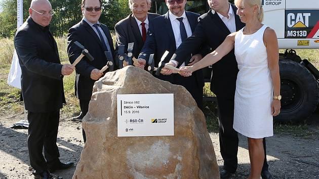 V Děčíně byla oficiálně zahájena stavba Vilsnické spojky.