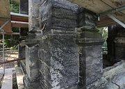 Vyhlídková věž Labská stráž prochází rekonstrukcí.