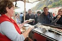 Ryby na grilu chutnaly nejvíce