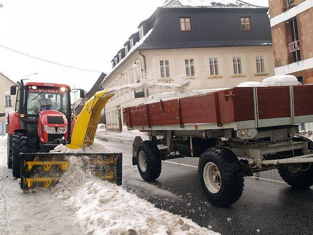 Krásná Lípa je na další sníh připravena.