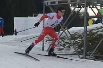 DANIEL OSKAR HOZÁK (v červeném) vybojoval na MČR hned dvě medaile.