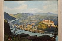 Obrazy děčínského malíře a rodáka Josefa Stegla se po letech vrátily domů.