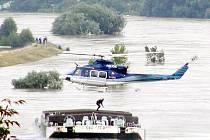 Povodeň v Děčíně 2001