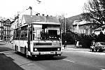 Autobus, který v předrevolučních dobách jezdi ve službách děčínského dopravního podniku.