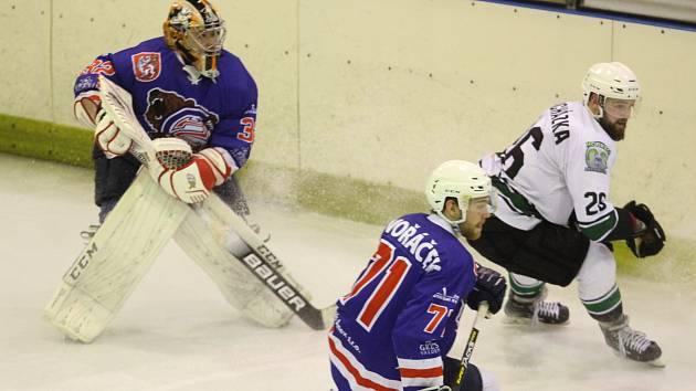 Hokej, II. liga - ilustrační foto.