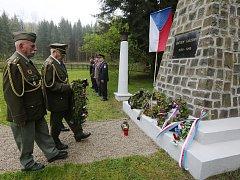 VZPOMÍNKA. V Rabštejně uctili oběti druhé světové války.