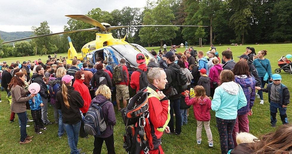 Den záchranářů Ústeckého kraje 2015 se konal v Děčíně