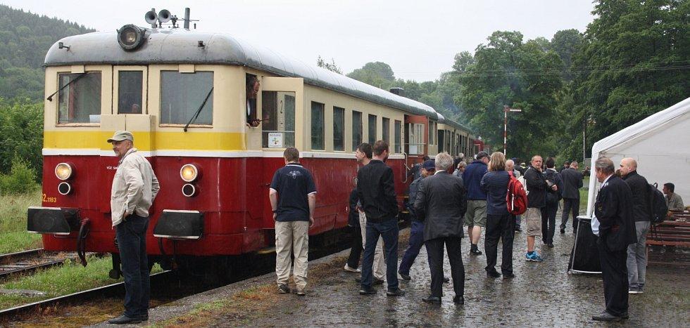 Šenovská lokálka slaví 130 let.