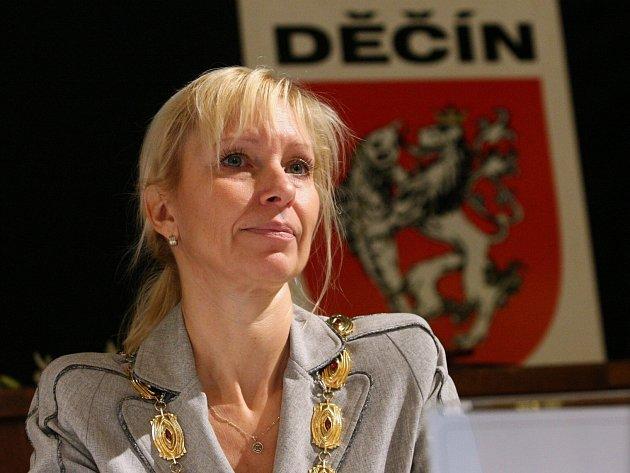 Primátorka Marie Blažková.
