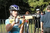 Vítězka kategorie ženy open Magda Myšičková z Nového Boru.