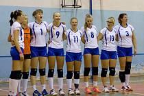RUMBURSKÉ VOLEJBALISTKY doma hrály proti Střešovicím B.