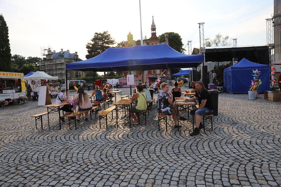 Městské slavnosti ve Varnsdorfu byly letos skromnější.