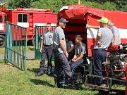 Soutěž v požárním útoku ve Verneřicích