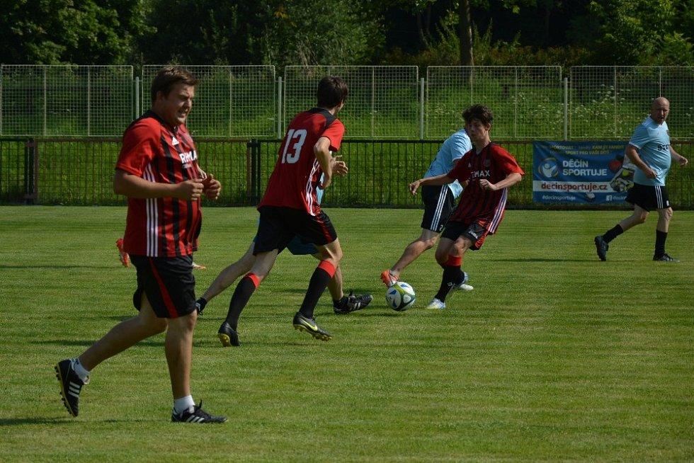 Fotbalový klub TJ Union Děčín slavil 75 let od svého založení.