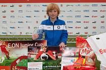 MATYÁŠ KORSELT z FAPV Děčín byl nakonec vyhlášen nejlepším hráčem celého turnaje.