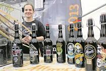 Pivní festival ve Varnsdorfu.