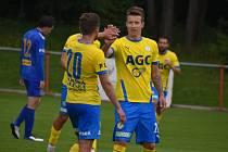 Teplice v přípravném zápasy porazily Varnsdorf 7:1. Hrálo se 3x40 minut.