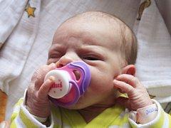 Eliška Jurčíková se narodila Kateřině Dvořákové z Děčína 17. května ve 4.39 v děčínské porodnici. Měřila 50 cm a vážila 3,01 kg.