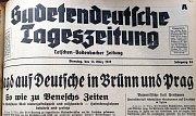 Německé noviny píší o lovu na Němce v českých městech.