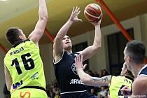 TŘETÍ DERBY. Děčínští basketbalisté hrají na půdě Ústí nad Labem.