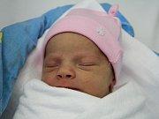 Emílie Slaninová se narodila Kateřině Pavlíkové z České Kamenice 3. ledna v 8.17 v děčínské porodnici. Vážila 3 kg.