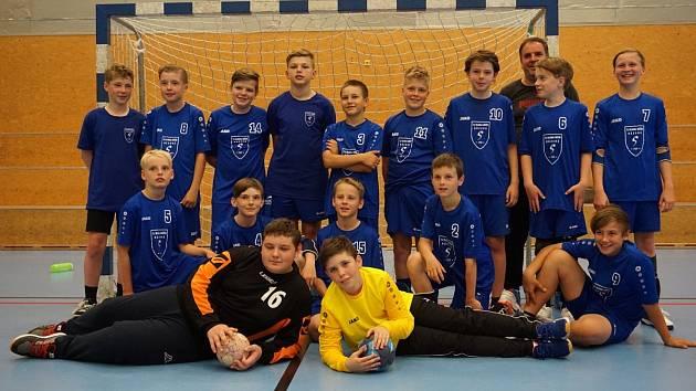 Mladší žáci vybojovali třetí místo na turnaji v Liberci.