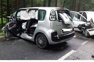 Tragická nehoda u Chřibské