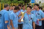 DALŠÍ ÚSPĚCH. Mladší dorostenci SK Děčín vyhráli první ligu ve vodním pólu.